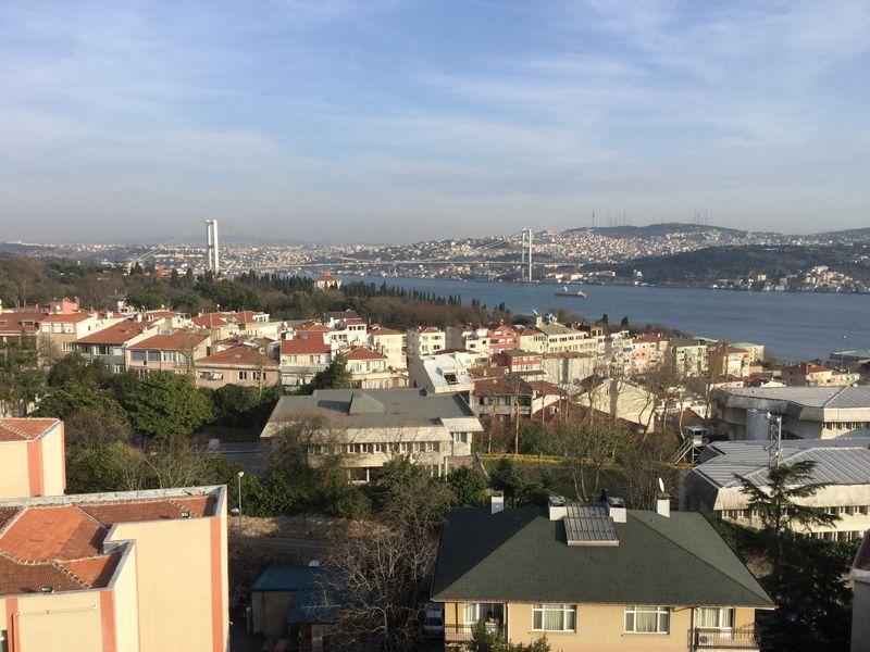 Istanbul toward Asia