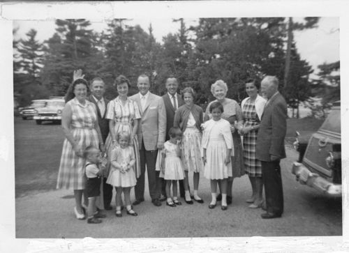 JohnsonFamilyReunionGliddenLodgeWI1959