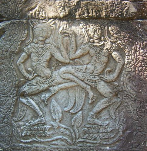 Detail of Dancing Girls called Apsana