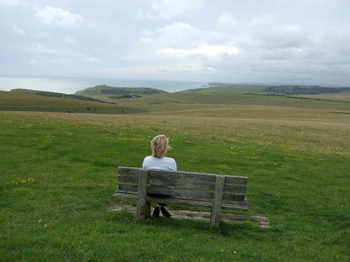 The downs of Beachy Head